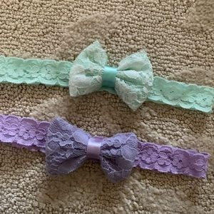 Other - Baby Girl Lace Bow Headband